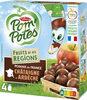 POM'POTES Fruits de nos Régions Pomme Châtaigne d'Ardèche - Product