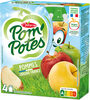 POM'POTES Pomme Nature 4x90g - Product