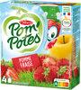 POM'POTES Pomme Fraise - Produit