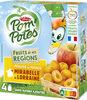 POM'POTES (Sans sucres ajoutés) Fruits de nos Régions Pomme Mirabelle de Lorraine - Product