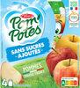 POM'POTES (Sans sucres ajoutés) Pomme Nature - Produit