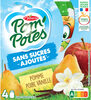 POM'POTES (Sans sucres ajoutés) Pomme Poire Vanille - Product