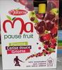 Ma pause fruit Pomme Cerise douce Griotte - Product