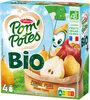 POM'POTES BIO SSA Pomme Poire 4x90g - Product