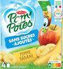 POM'POTES (Sans sucres ajoutés) Pomme Banane - Product