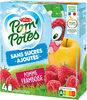 POM'POTES (Sans sucres ajoutés) Pomme Framboise - Product