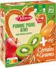 MATERNE SSA Pomme Poire Kiwi Céréales & Graines 4x90g - Produit