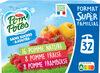 Compote Sans Sucres Ajoutés Pomme/PomFrs/PomFrb - Product