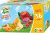 POM'POTES SSA 5 Fruits Jaunes/5 Fruits Rouges 36x90g Format Familial - Producto