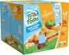 POM'POTES SSA Les Inédits Pomme/Pomme Mirabelle/Pomme Cerise/Pomme Banane 72x90g 48+24 Offertes - Product