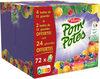 POM'POTES Pomme/Pomme Myrtille/Pomme Mirabelle/Pomme Framboise 72x90g 48+24 Offertes - Produit