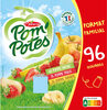 POM'POTES Pomme/Pomme Banane/Pomme Fraise 96x90g Format Familial - Produit