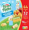 POM'POTES SSA Pomme/Pomme Poire/Pomme Banane 96x90g 64+32 Offertes - Product