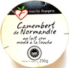 Camembert de Normandie au lait cru moulé à la louche (22% MG) - Product