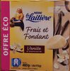 Frais et Fondant à la vanille de Madagascar 4 x 115 g - Produit