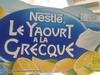Le Yaourt à la Grecque Pulpe de Citron - Product