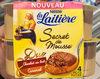 La Laitière Secret de Mousse Duo Chocolat au Lait Caramel - Product