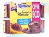 Secret de Mousse Chocolat au lait (4 Pots) Offre Eco - Produit
