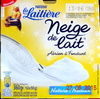 Neige de lait - Produit