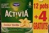 Activia (Saveur Vanille) 12 pots + 4 Gratuits - Produit