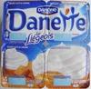Danette (le Liégeois Caramel) 4 Pots - Produit