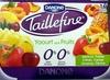 Taillefine, Yaourt au Fruits (0 % MG, 0 % Sucres Ajoutés) - (Abricot, Fraise, Citron, Cerise, Ananas, Pêche) 16 Pots - Produit