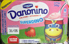 Danonino Superdino saveur Fraise - Product