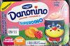 Danonino Superdino Saveur Framboise / Pêche - Product