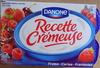 Recette crémeuse, Fraise-Cerise-Framboise - Product