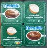 Danette chocolat saveur noisette - Produit