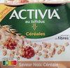Activia au Bifidus Céréales Saveur Noix Céréales 4 x 120 g - Produkt