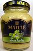 Moutarde au vin blanc aux fines herbes Maille - Produit