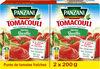 Panzani sauce tomacouli basilic 200gx2 - Product