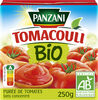 Panzani - Purée de tomates nature Bio Tomacouli 250g - Product
