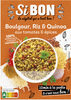 Si bon boulgour,riz,quinoa aux tomates et epices - Product
