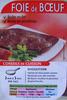 Foie de Bœuf (1 tranche) - Produit