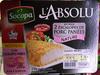 L'Absolu (kit pour 2 escalopes de porc panées nature) - Produit
