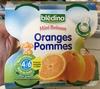 Mini Boisson Oranges Pommes - Product