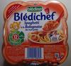 Spaghetti à la Bolognaise des tout-petits - Product