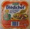 Blédichef Sauté de pommes de terre, Petits pois et Veau - Producto