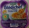 Blédichef Etuvée de Potiron, Carottes et Blé - Producto