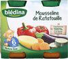 Mousseline de Ratatouille 2x200g - Produit