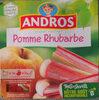 Dessert Fruitier Pomme Rhubarbe - Product