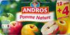 Dessert Fruitier® Pomme Nature (12 pots + 4 Gratuits) 1,6 kg - Andros - Product