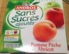 Pomme Pêche Abricot sans sucres ajoutés - Produit