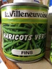 Haricots verts fins - Product