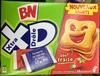 Xtra Drôle - Biscuits fourrés goût fraise - Product