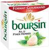 Boursin Ail & Fines Herbes - Produit