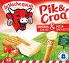 Pik & Croq' - Original cheese & pizza breadstik - Product