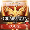 Grimbergen 6X25CL GRIMBERGEN ROUGE 6.0 DEGRE ALCOOL - Prodotto